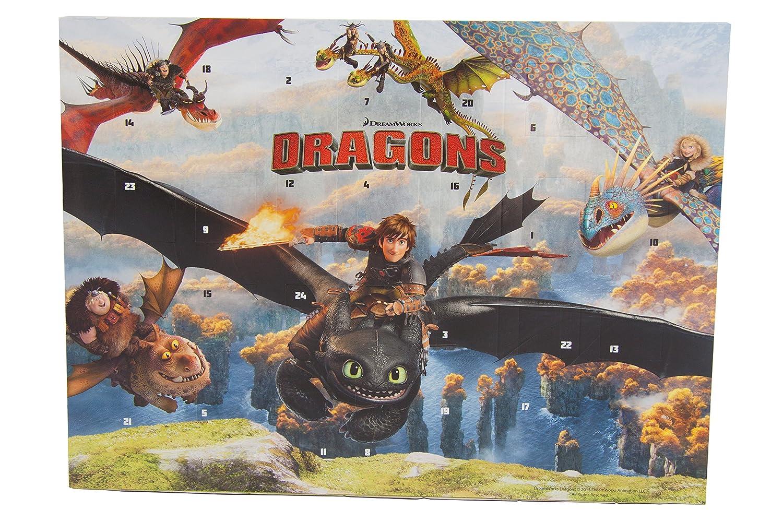 Dragons Schoko Adventskalender Mit 75g Schokolade Für Weihnachten