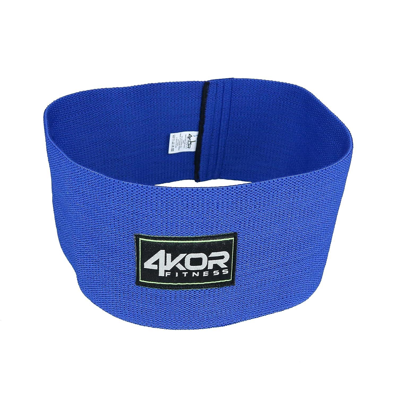 正規品販売! ヒップバンド 4KOR 4KOR fitness社製 - 抵抗ループ 円 ダイナミックなウォーミングアップ 抵抗ループ、腰と臀部の活性化に最適 - B07DF4XCB8 Blue/4.75