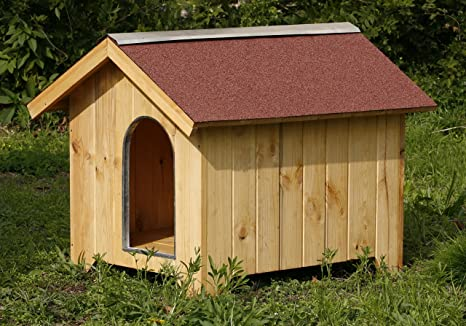 Caseta de madera para perros 85 x 110 x 110h