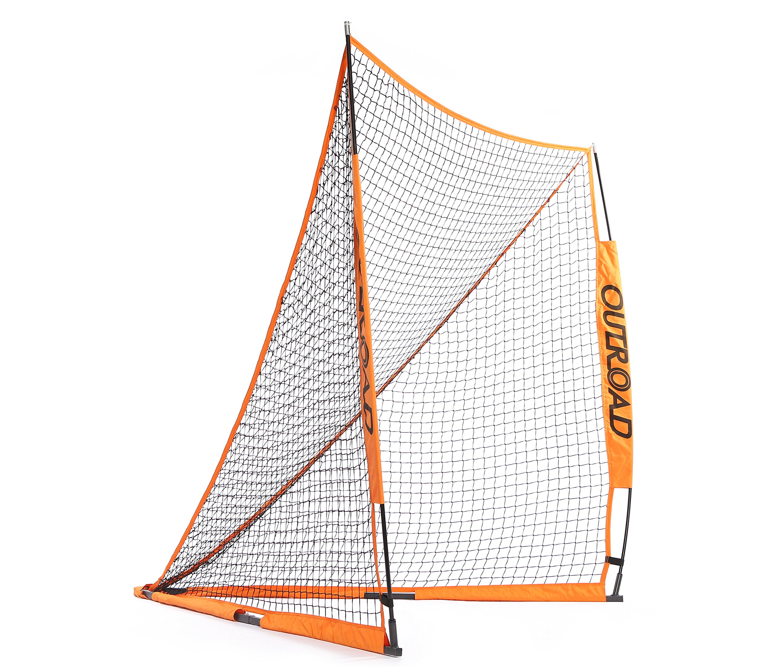 Outroad 6x6 Official Folding Goal Collapsible for Practicing Shooting Training Lacrosse Net