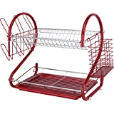 Europe Ware K10766 Dish Rack, Red