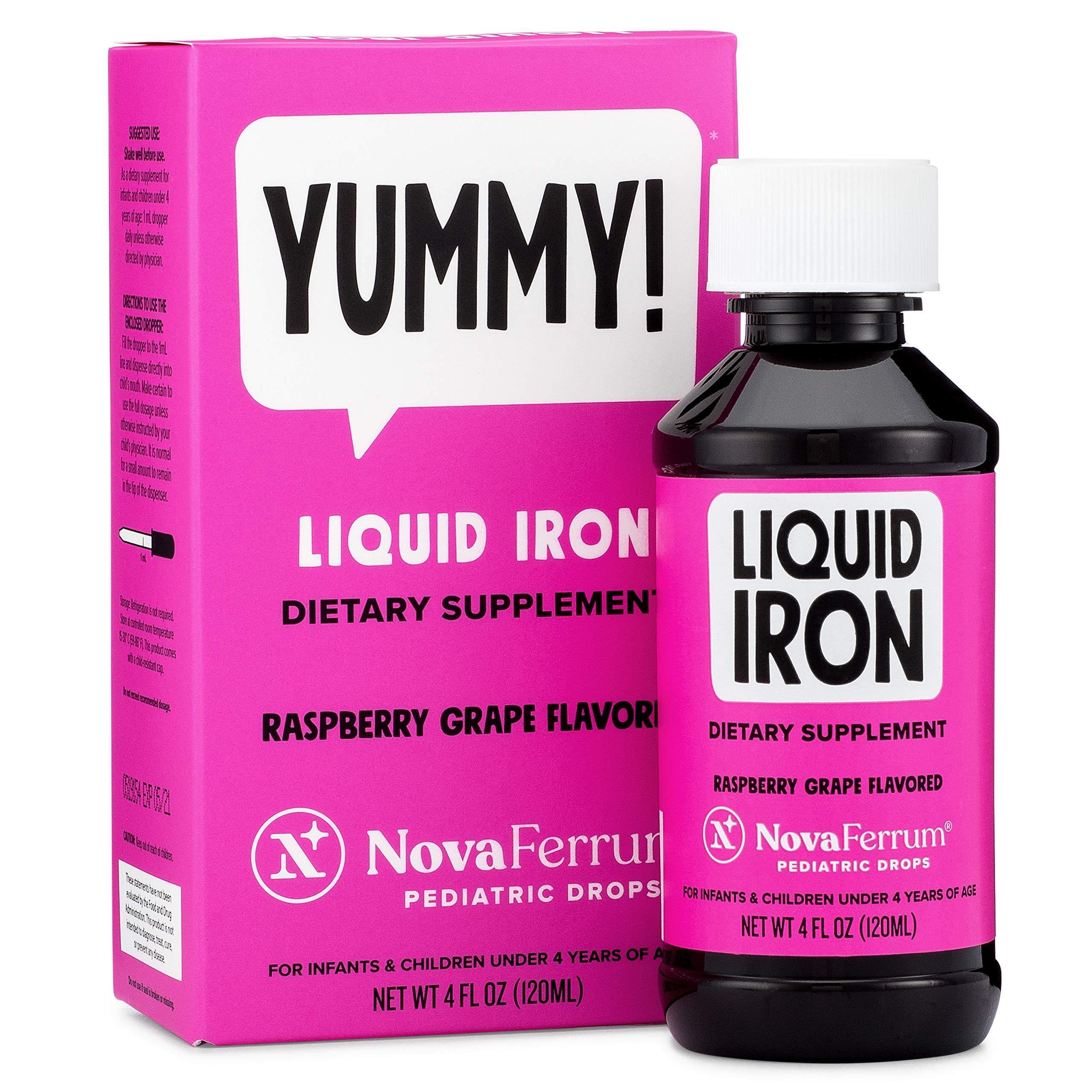 NovaFerrum Pediatric Drops Liquid Iron Supplement