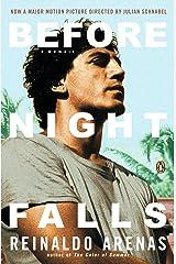Before Night Falls: A Memoir Paperback