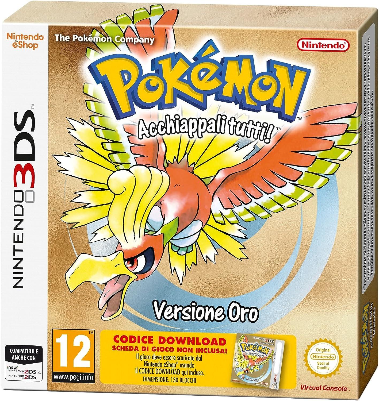 Pokémon Versione Oro - New Nintendo 3DS [Importación italiana]: Amazon.es: Videojuegos