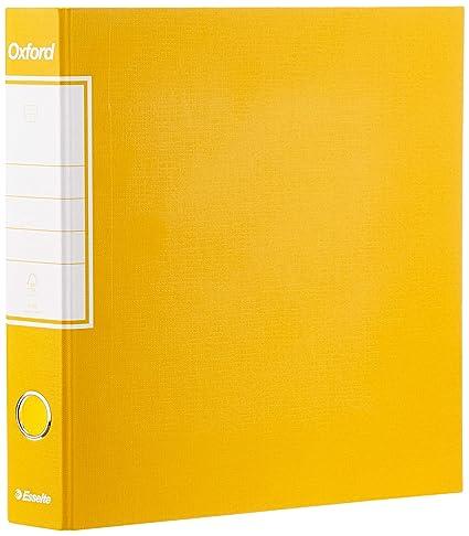 Esselte 390782090, archivador Oxford, formato comercial, cartón, lomo 5 cm para archivador