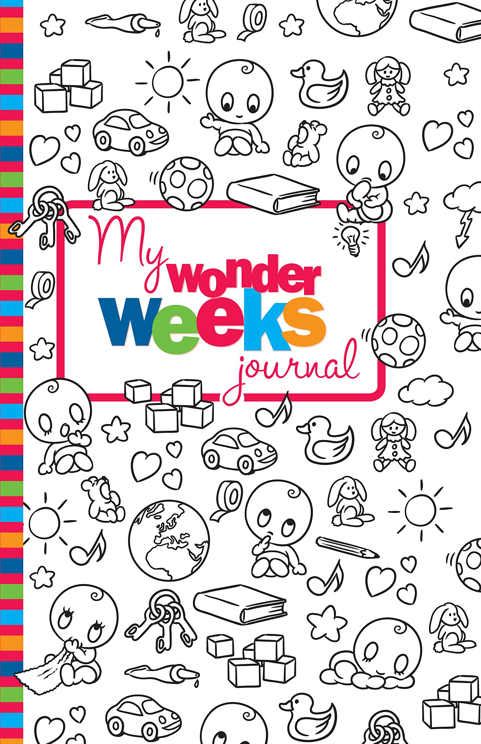 My Wonder Weeks Journal Xaviera Plas 9789491882074 Amazon Books