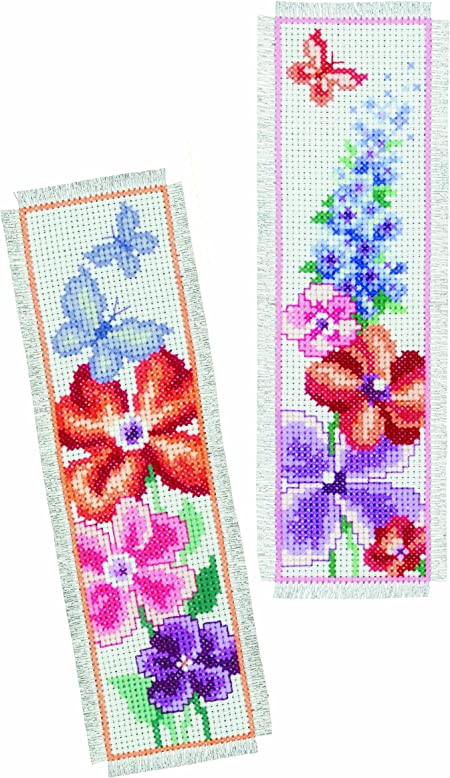 Multicolor//Purple Vervaco Z/ählmusterpackung-Stickpackung im gez/ählten Kreuzstich