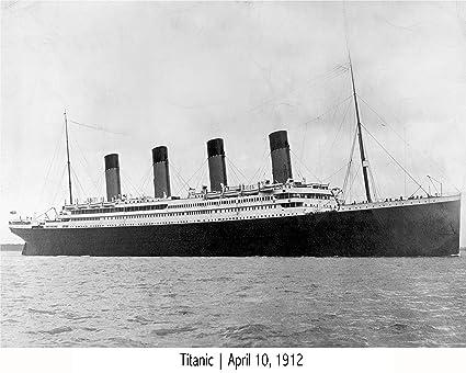 Amazon.com: RMS Titanic White Star Line Cruise Ship 1912 | Vintage ...