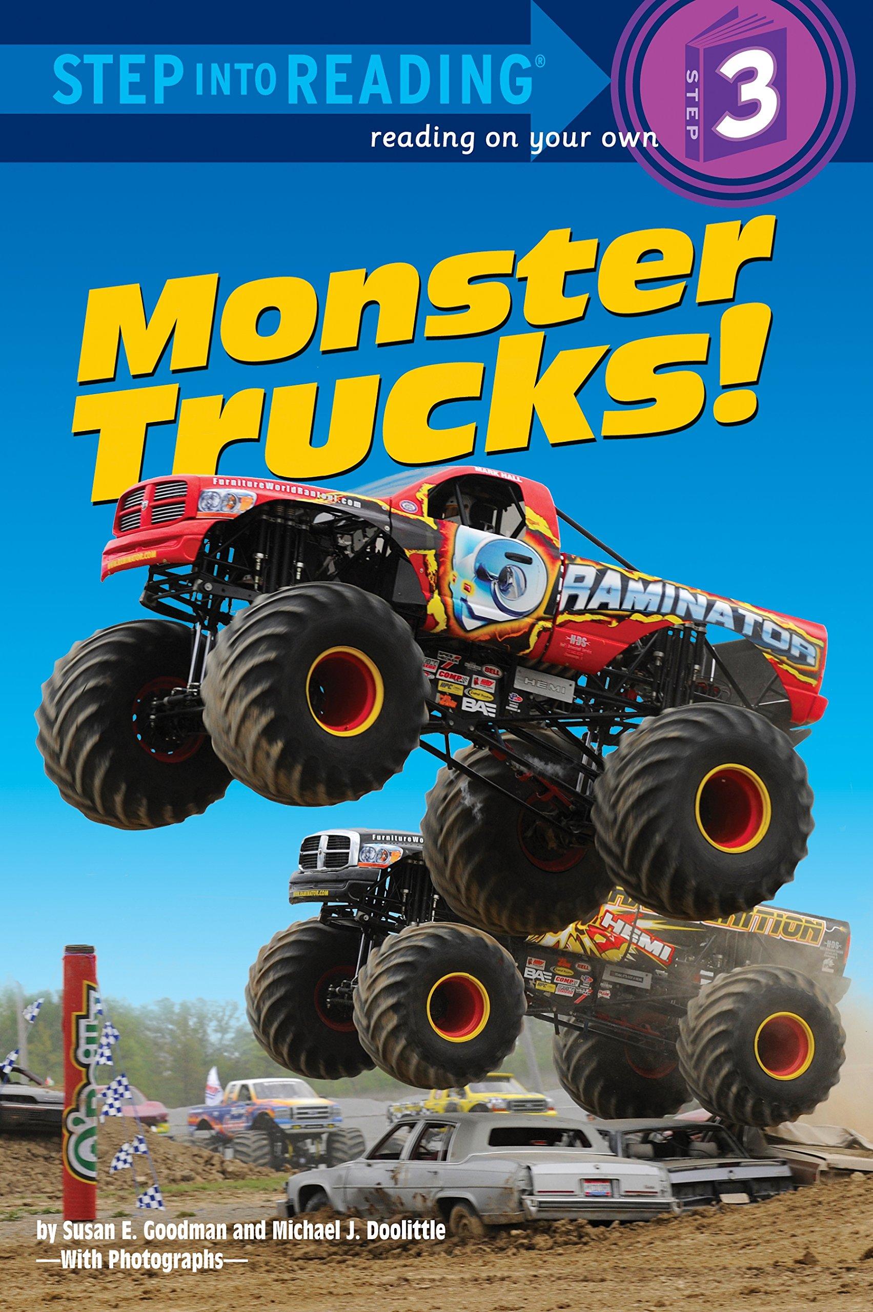 Monster Trucks Step into Reading