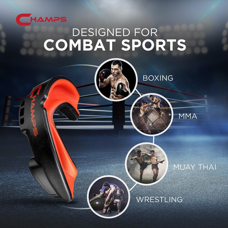 Muay Thai Nouvelle Embouchure Respirante UFC Lutte MMA BJJ Prot/ège-Dents pour Sports de Combat Prot/ège-Dents pour la Boxe Kick-Boxing