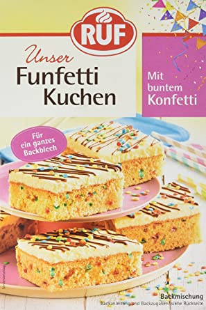 Ruf Funfetti Kuchen 3er Pack 3 X 750 G Amazon De Lebensmittel