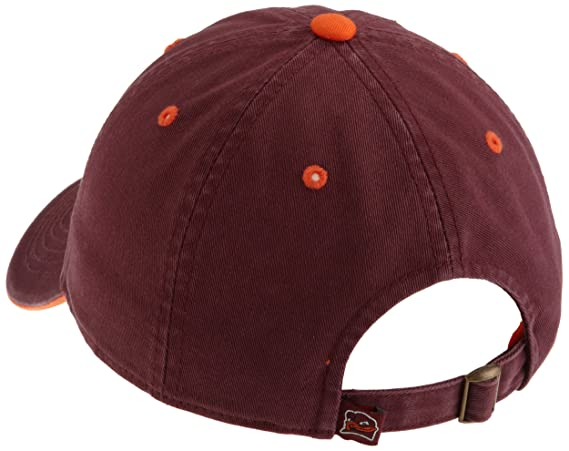 100% authentic 5a261 656ee ... spain amazon virginia tech hokies adult adjustable hat maroon orange  baseball caps clothing da55b e507f