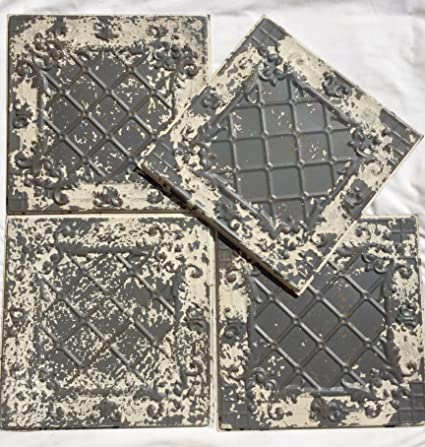 Frank Antique Decorative Floral Tile Architectural & Garden