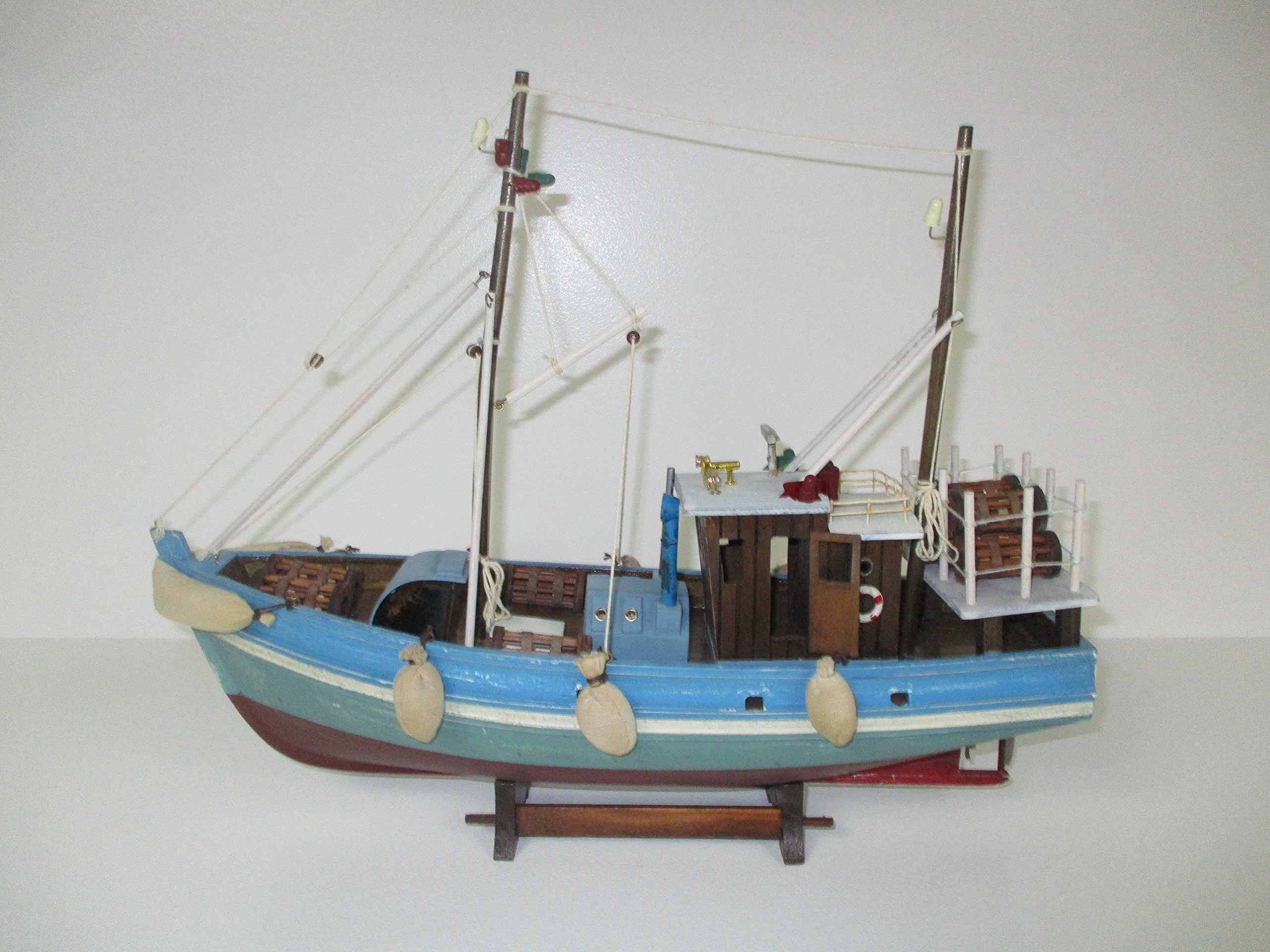 Dazzle Dees Wood Model Fishing Boat by Dazzle Dees (Image #1)