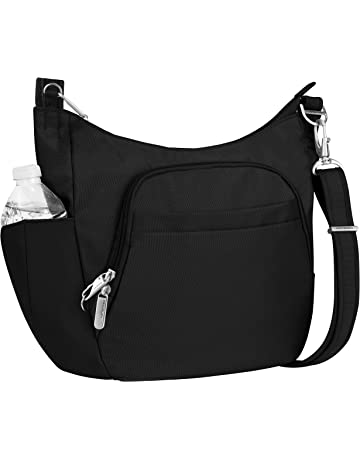 c181583262 Travelon Anti-theft Classic Crossbody Bucket Bag