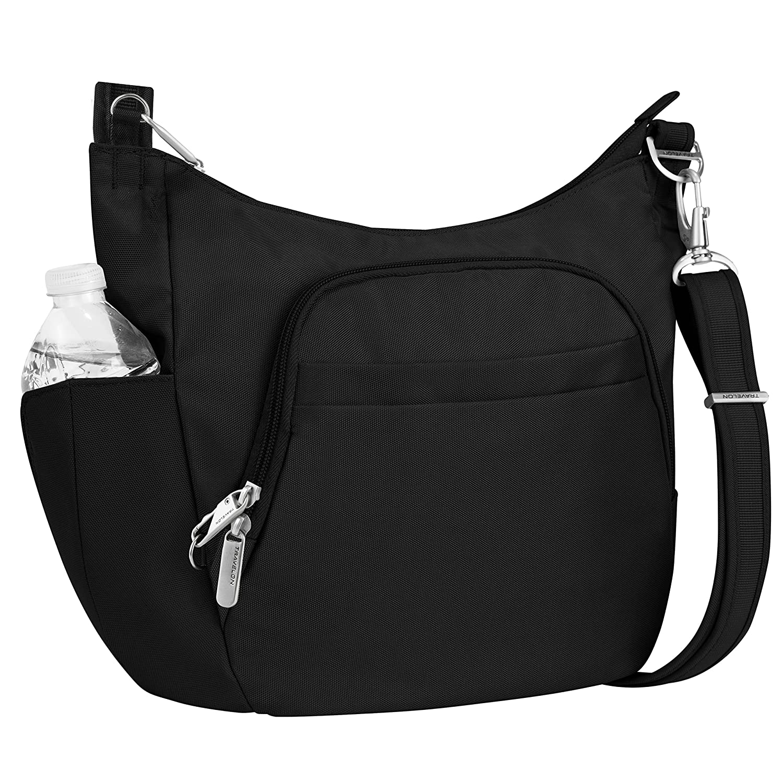 Travelon Anti-Theft Cross-Body Bucket Bag 20f4bed725454