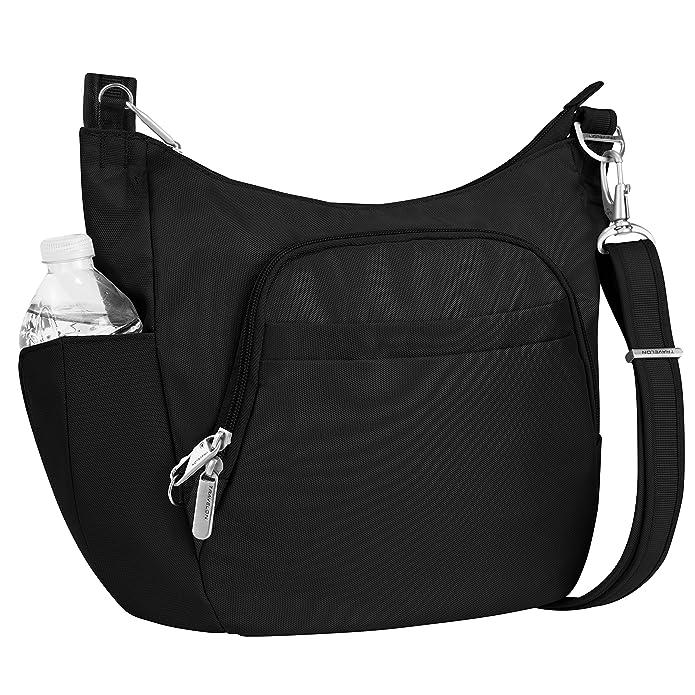 Travelon RFID Anti-Theft Essential Messenger Bag - Black