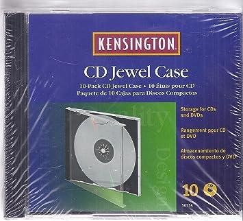 Kensington Cd Jewel Case Pack of 10