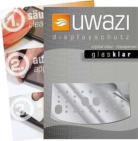 uwazi I 5x Láminas Protectoras tranparente para la Pantalla del ...