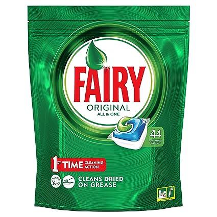 Fairy Original Todo en 1 - Cápsulas de Lavavajillas - Pack ...