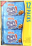 Chips Ahoy! Mini Chocolate Chip Cookies, 1 Ounce (Pack of 12)
