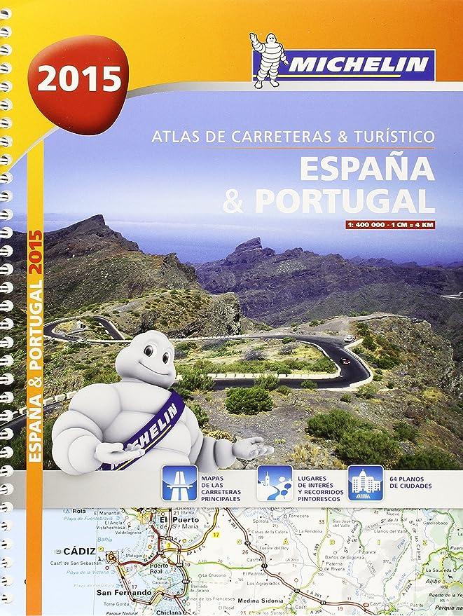 Atlas. España-Portugal (A4) 4460 (15) (Atlas de carreteras Michelin): Vv.Aa.: Amazon.es: Belleza