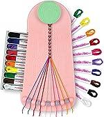 Choose Friendship, My Friendship Bracelet Maker, 20 Pre-Cut Threads (Craft Kit
