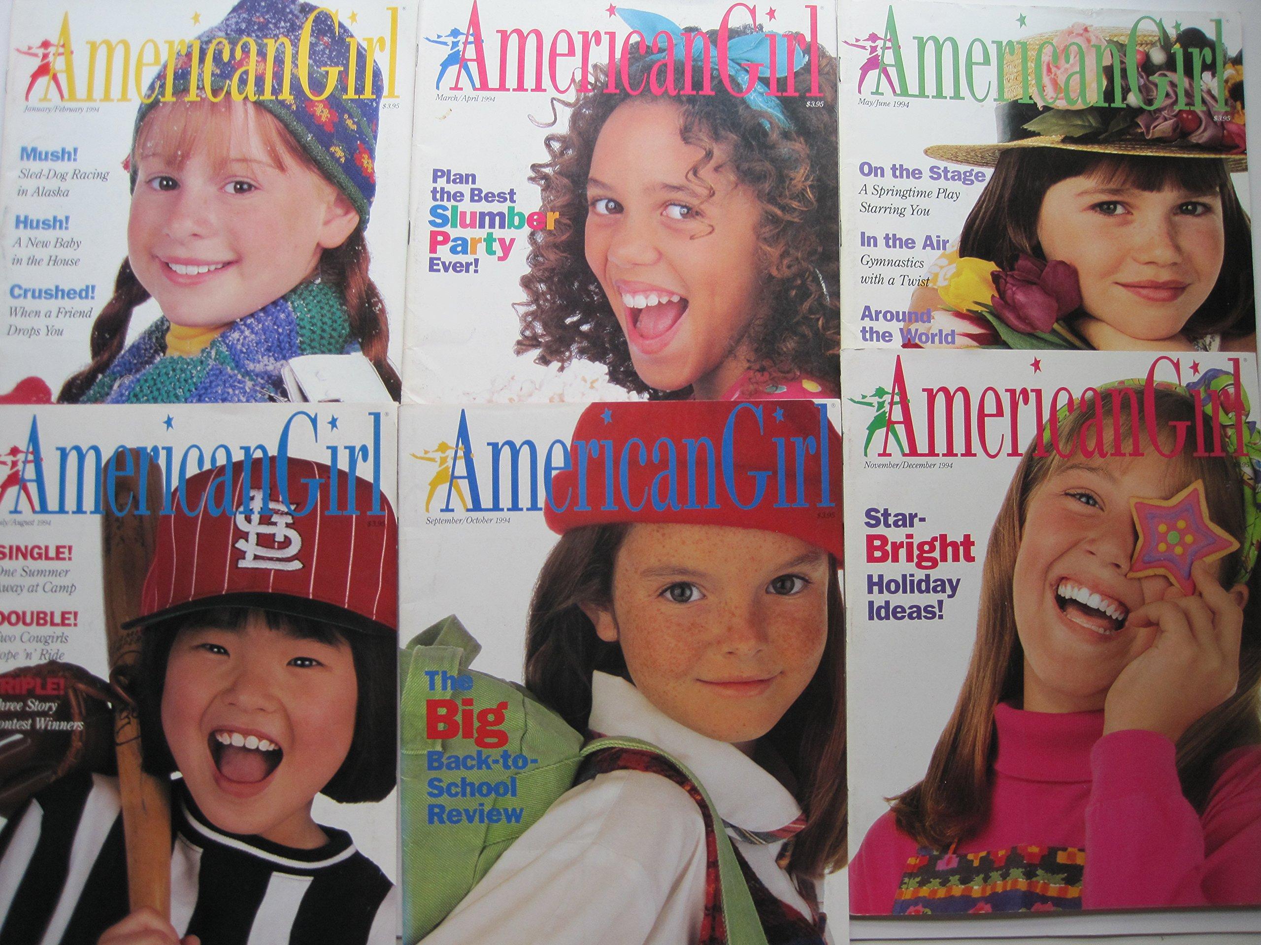86b2eaeec5b American Girl Magazines 1994 (Six Issues