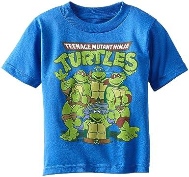Teenage Mutant Ninja Turtles TMNT Vs Shredder Cartoon Juvenile T-Shirt Tee