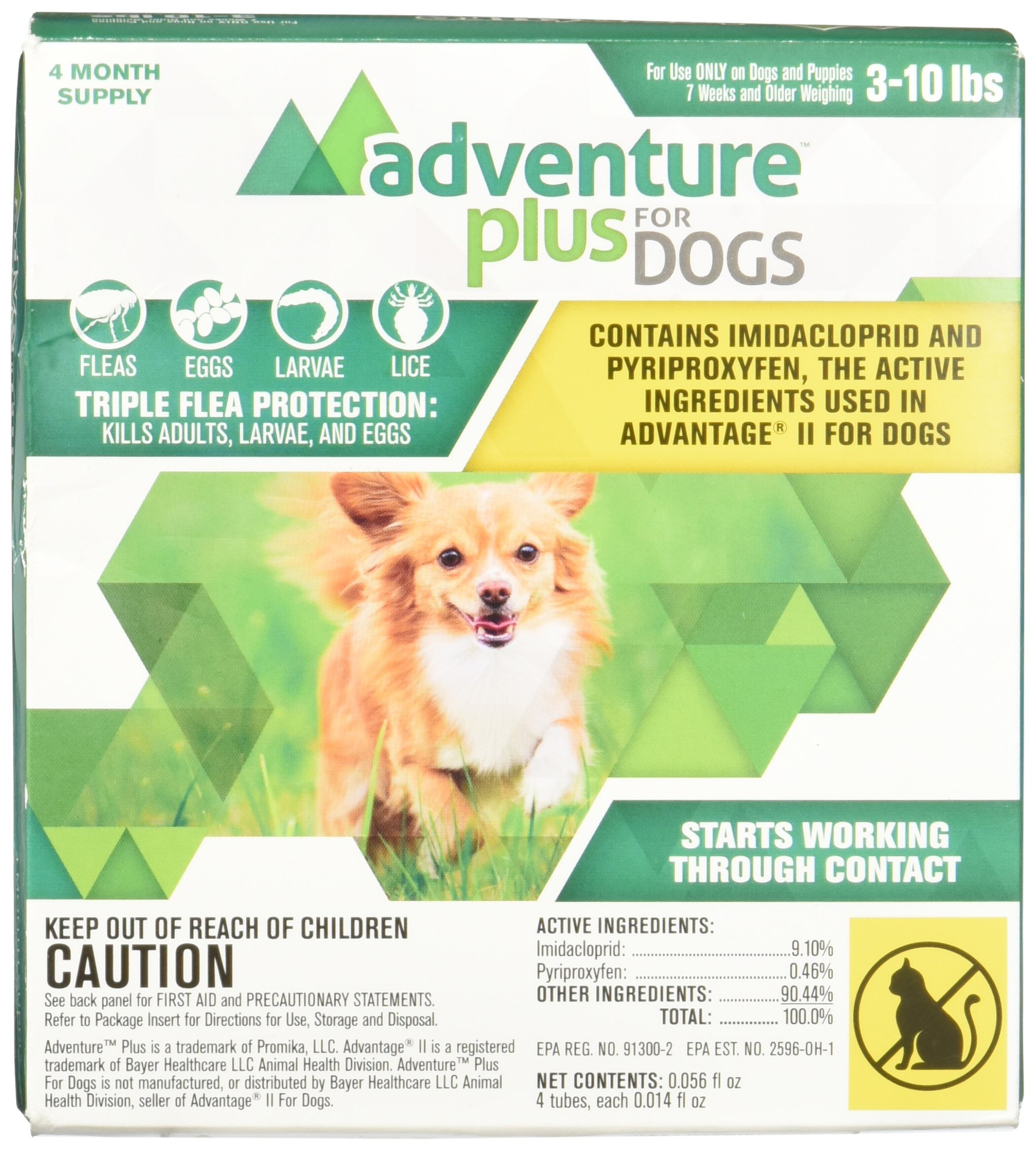 Promika Adventure Plus for Dogs 4pk 3-10lb