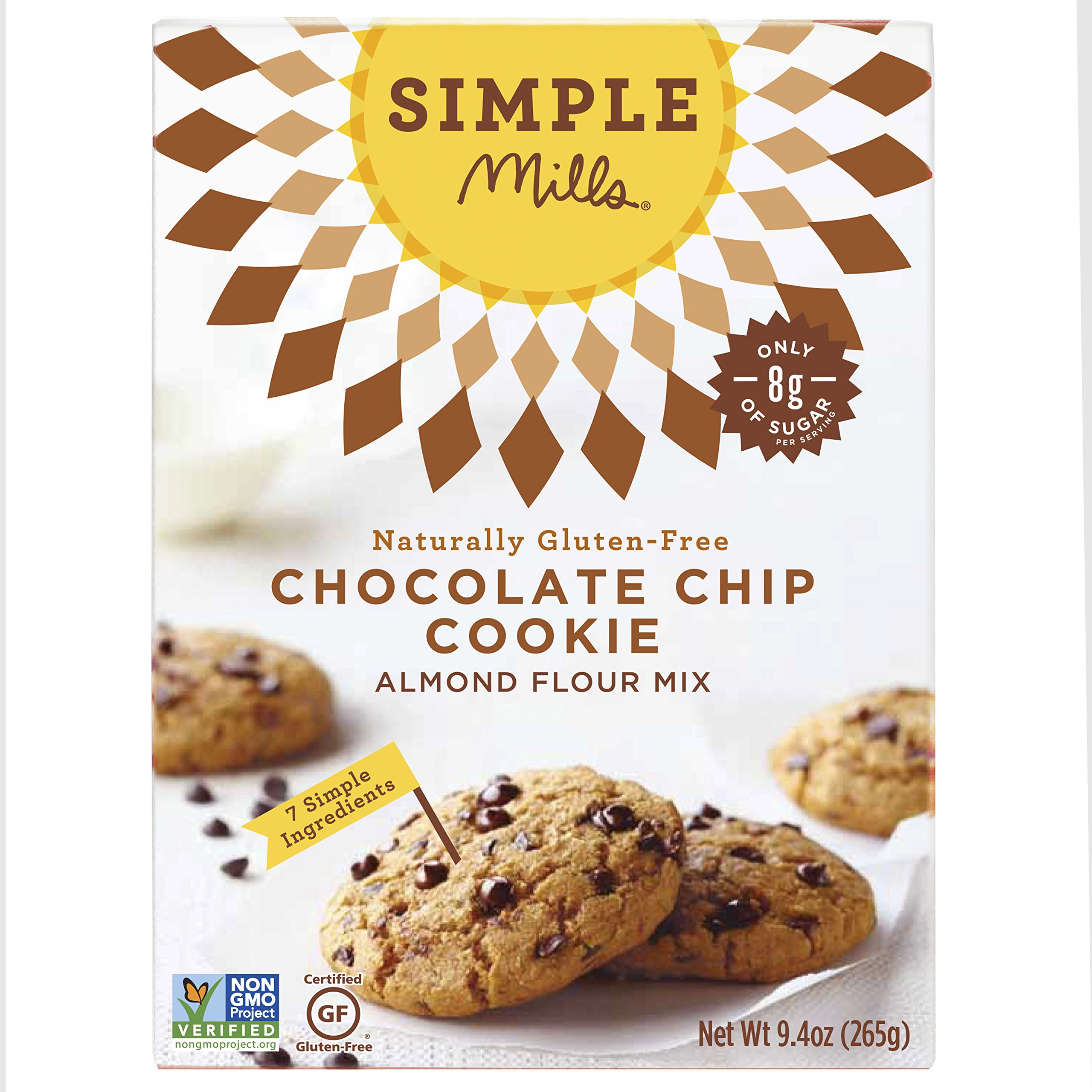 Simple Mills Chocolate Chip Cookie Mix, 9.4 Ounce