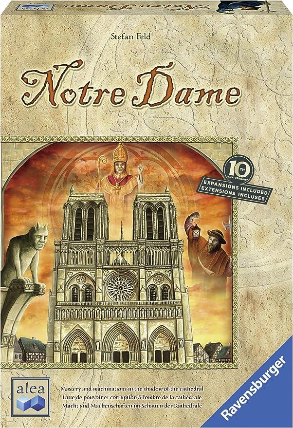 Ravensburger- Notre Dame: Juego de Mesa de Estrategia edición del ...