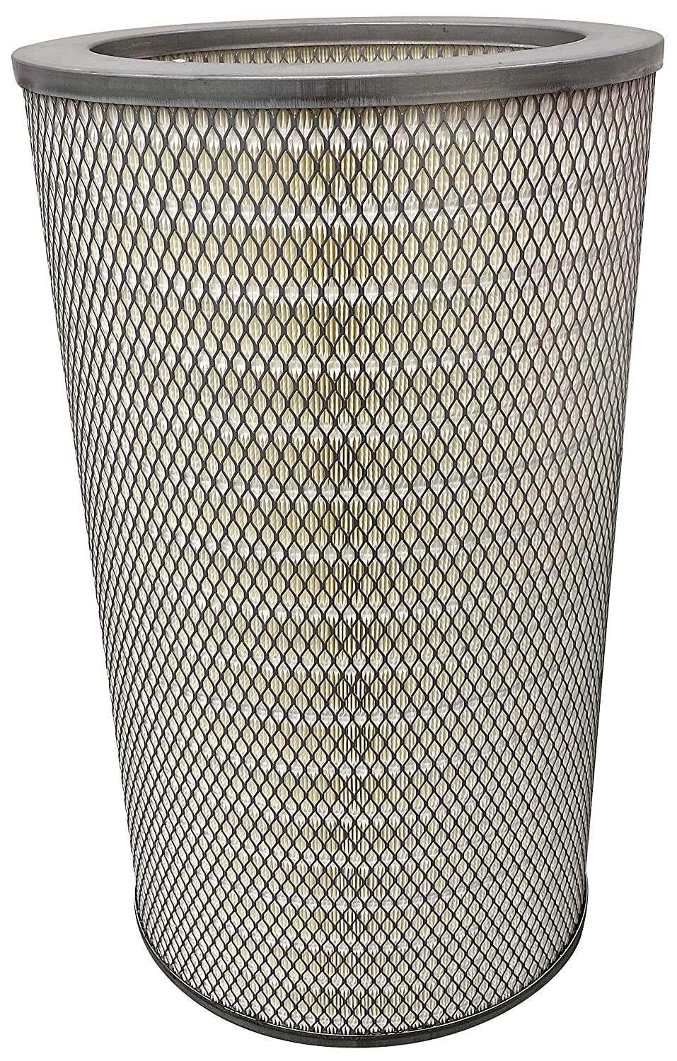Cellulose Polyester Blend FR Height Dust Collector Filter Open-Open Pans 8.375 12.75 ID 26 OD