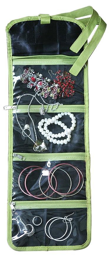 Amazon.com: ORB Organizador de joyas de viaje, bolsa de ...