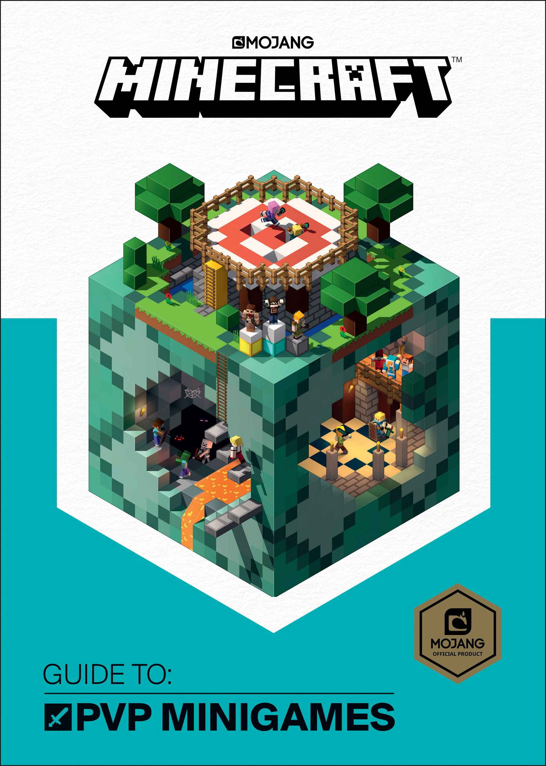 Minecraft: Guide to PVP Minigames: Mojang Ab, The Official