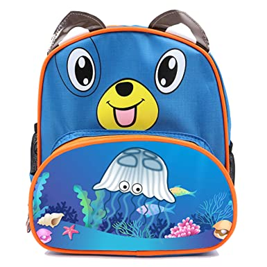 e7a16f4082aa XheHe Child Starry Jellyfish SchoolBags Kids Pre-School Toddler Waterproof  Backpack Carrying Lunch Bags Boy