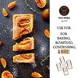 CHEFMADE Mini Rectangular Quiche Pan Set with
