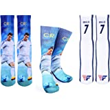Forever Fanatics Ronaldo #7 Soccer Crew Socks ✓ CR7 Cristiano Ronaldo Autographed ✓One Size Fits 6-13 ✓ Made in USA…