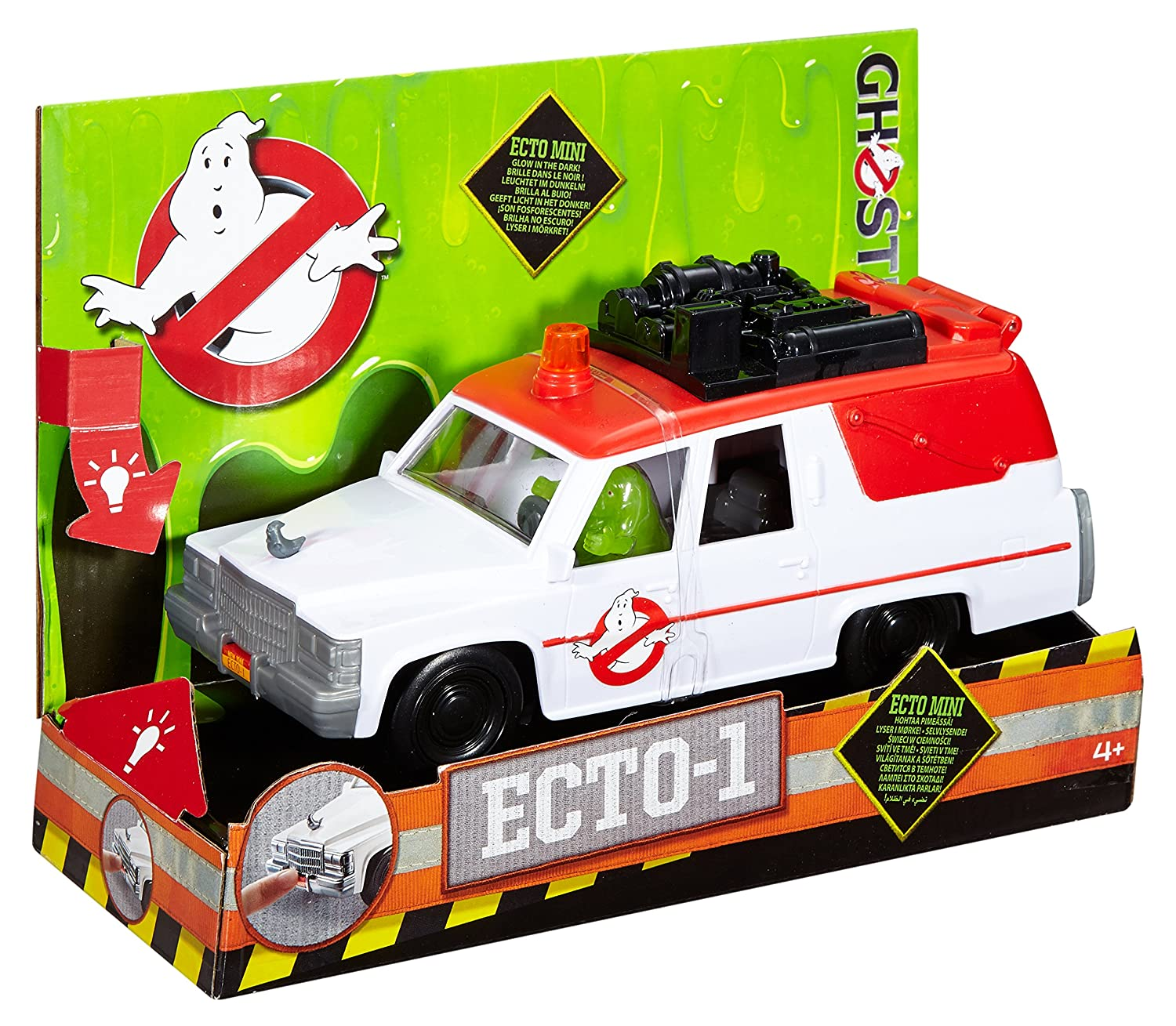Amazon Ghostbusters ECTO 1 Vehicle and Slimer Figure Toys