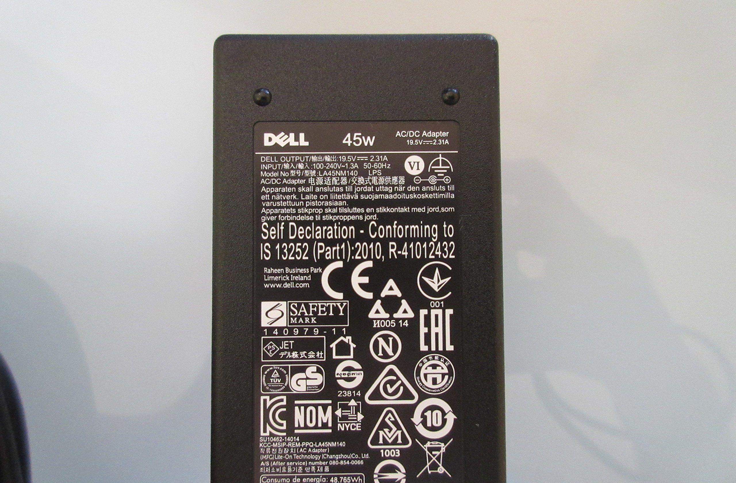 45W 19.5V AC Power Adapter Charger for DELL Inspiron 5455 5558 5559 Series new genuine []