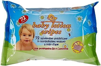 Baby Lotion Wipes - Toallitas húmedas - Con provitamina B5 y camomila - 72 toallitas