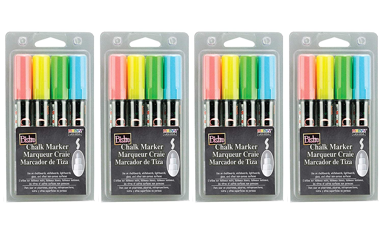 Uchida 480-4A 4-Piece Bistro Chalk Marker Set (Fоur Paсk)
