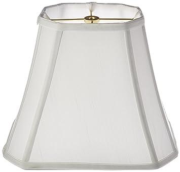 royal designs rectangle cut corner lamp shade white 5 x 65 x - Rectangular Lamp Shades