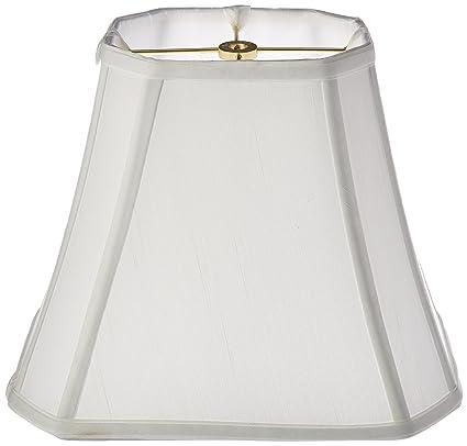 Amazon royal designs rectangle cut corner lamp shade white 5 royal designs rectangle cut corner lamp shade white 5 x 65 x aloadofball Images