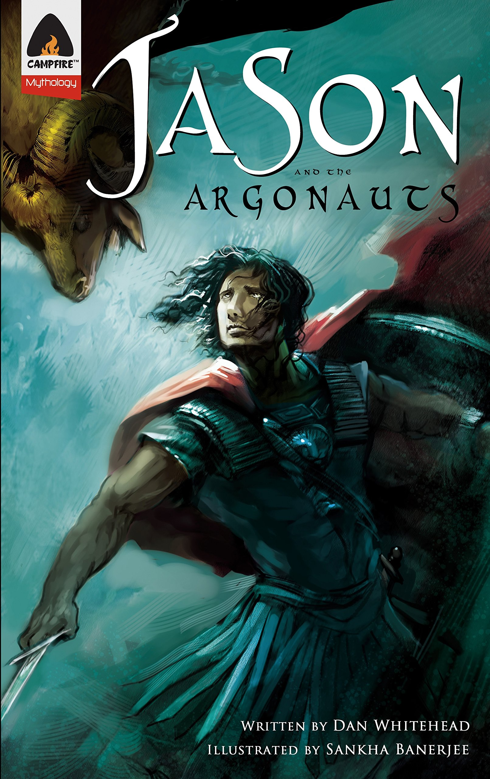 Read Online Jason and the Argonauts: A Graphic Novel (Campfire Graphic Novels) pdf