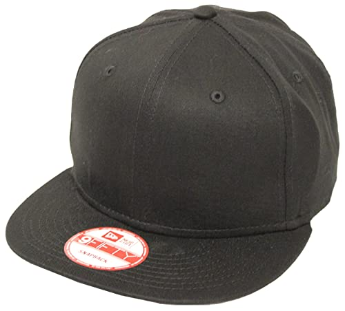 9168e91d2f5 ... best image unavailable. image not available for. color new era 9fifty  plain black snapback