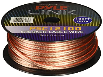 Pyle psc12100 12 gauge 100 feet speaker wire amazon electronics pyle psc12100 12 gauge 100 feet speaker wire greentooth Image collections