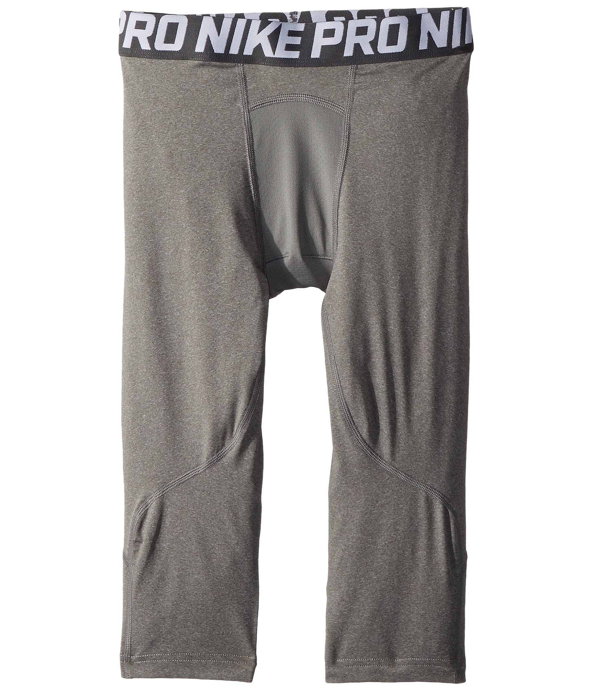 Nike Pro Boys 3/4 Training Tights (Large) Carbon Heather by Nike
