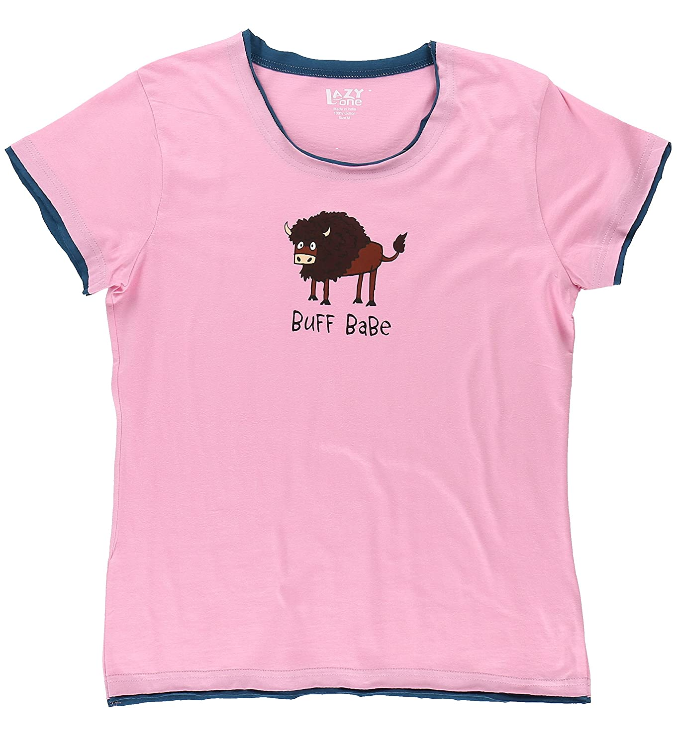 Lazy One Womens Fitted Pajama Tee