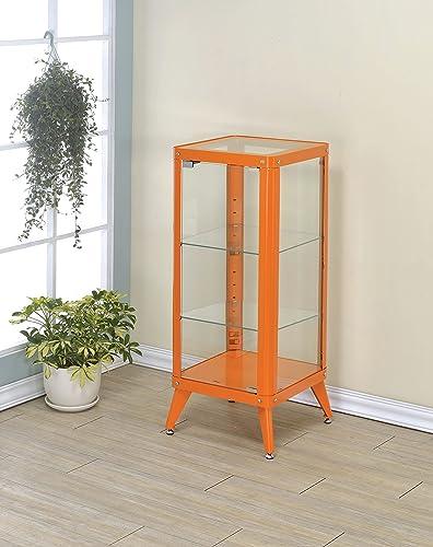Furniture of America Essor Modern Glass Cabinet